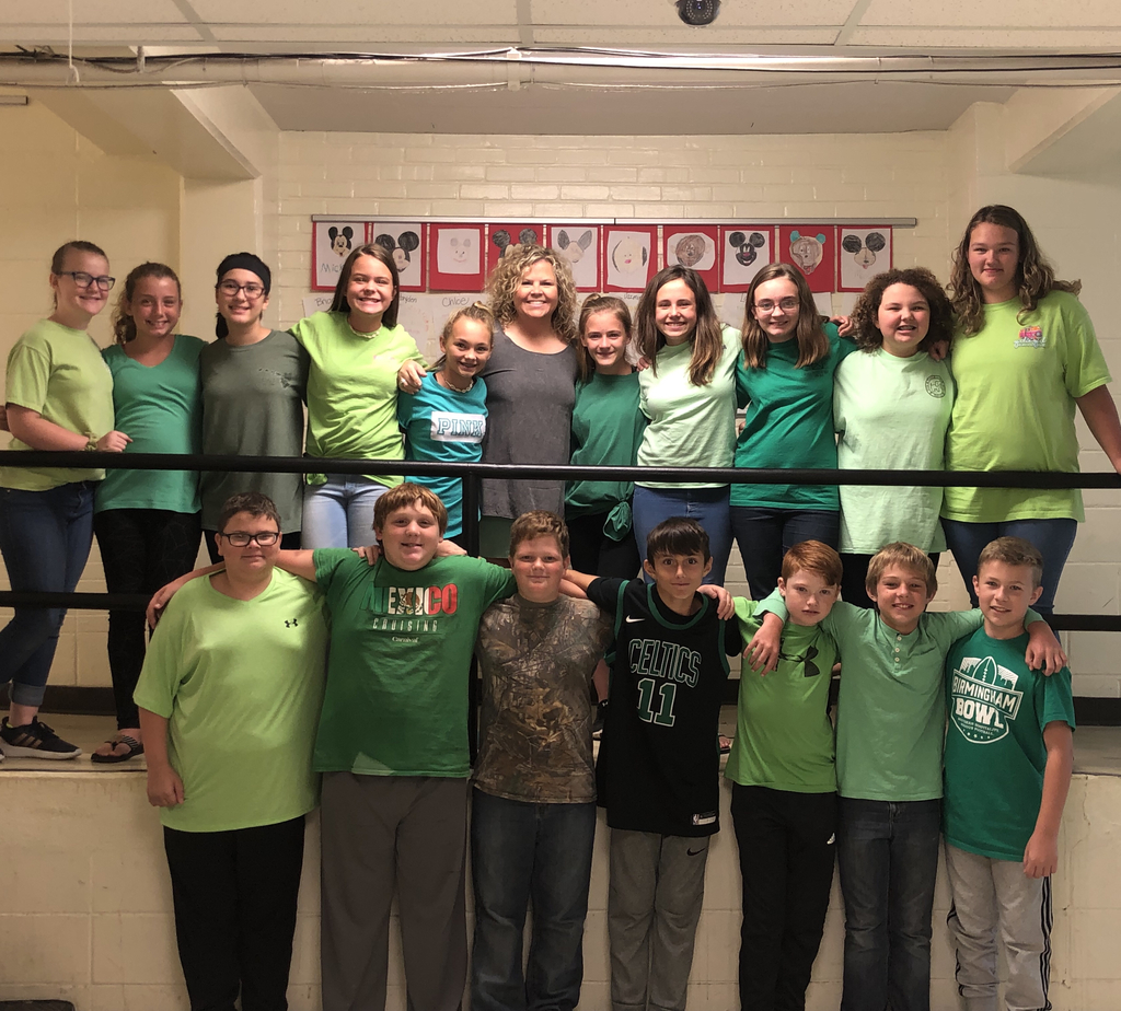 💚Love and Support to Wyatt Spann from 6th Grade at WMS💚