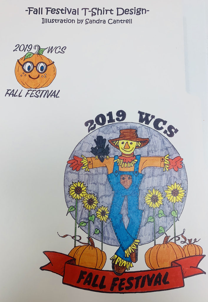 Fall Festival T-Shirt Design - Order forms are being sent home now!