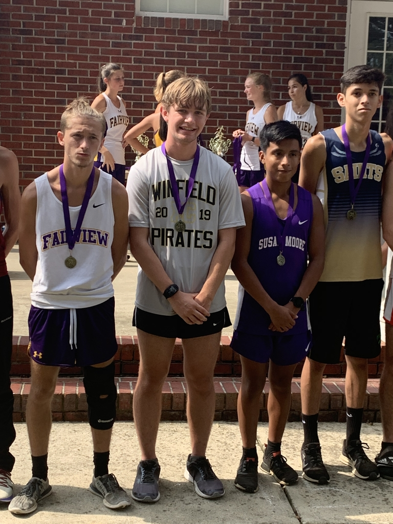 Dawson Klein finished in the top 20 in 1A-4A varsity boys with a time of 18:20 at the Fairview Invitational.
