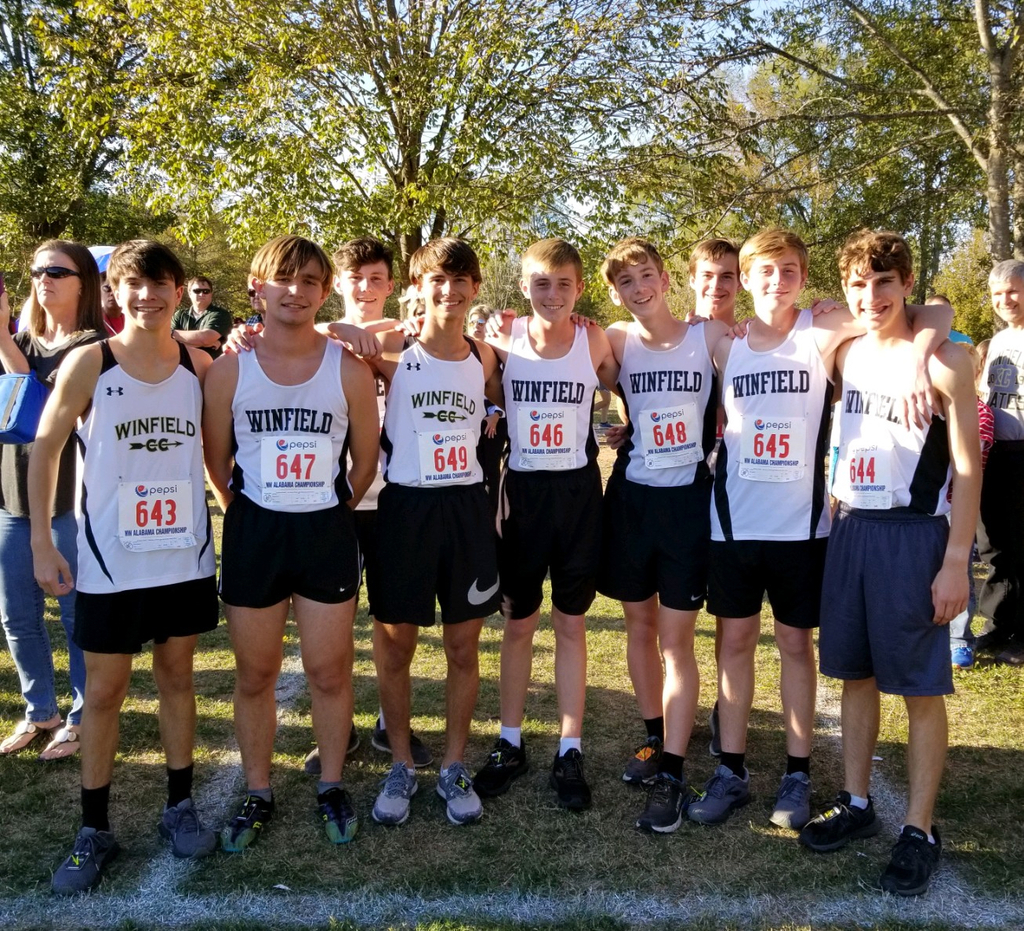 Cross Country had great races at the Northwest Alabama Championship.