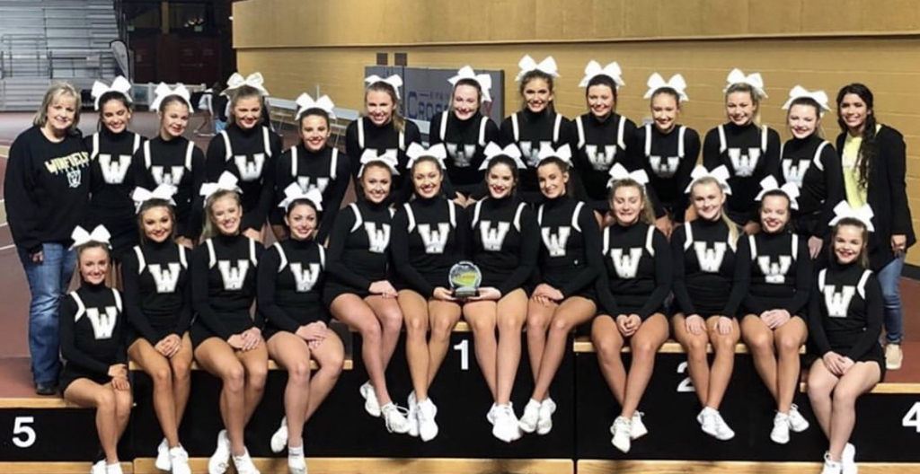 North Super Regional 3-A Champions!  Congratulations to our WCHS 📣 Cheerleaders!