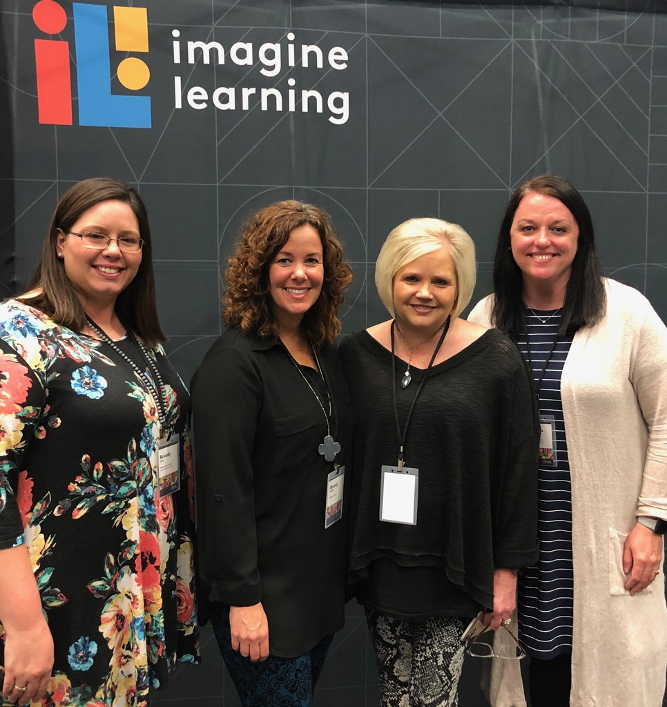 Mrs. Upton, Mrs. Dennis, and Mrs. Mays attended the Imagine Learning professional development in Tuscaloosa today.
