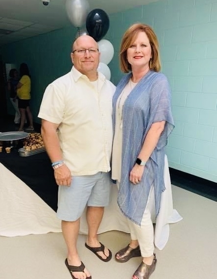 The faculty and staff of Winfield City Schools honored Mr. Roy Williams and his family with a retirement party at the elementary school. Thank you for your years at Winfield City, Mr. Williams.
